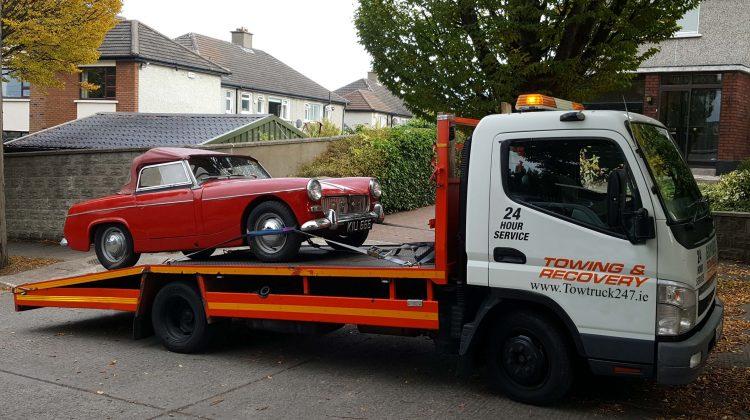 classic car transportation