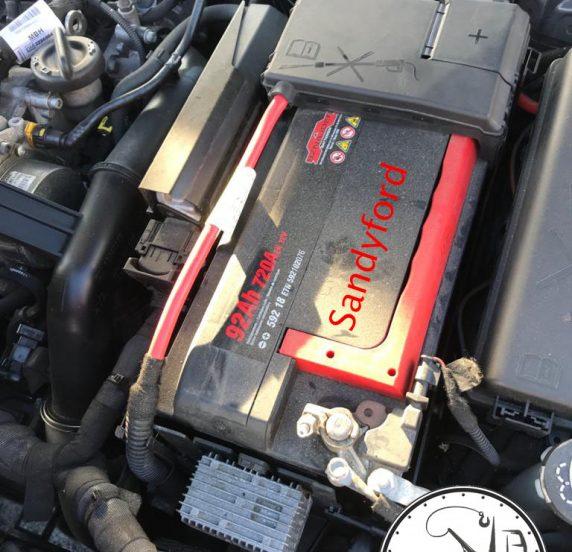 flat battery sandyford