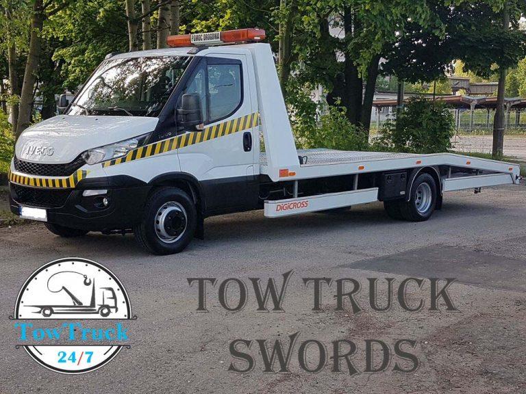 tow truck swords